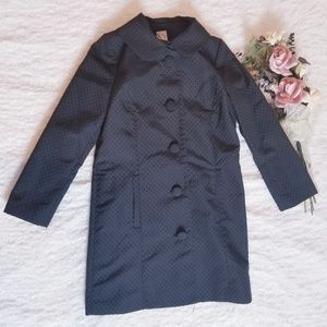 Lauren Conrad Black Jacket with Buttons & Bow Sz 8
